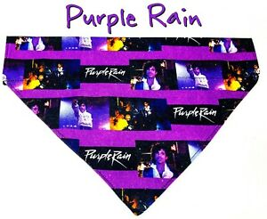 Rock Star Dog Bandana Over the Collar dog bandana Dog collar bandana Purple Rain