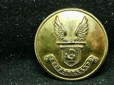 Sir Theo. Brinckman, Baronet w Wings & Motto 26mm Gilt Livery Button Pitt 20th C