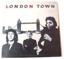 Wings (PAUL MCCARTNEY) - London Town  UK VINYL LP & POSTER A1 B2 MATRIX