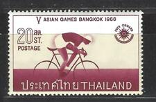 THAILAND  # 442  MNH  5TH ASIAN GAMES BANGKOK 1966, BICYCLING,  SPORTS