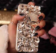 NEW DELUX COOL LUXURY BLING DIAMOND DIAMANTE CASE 4 VARIOUS MOBILE PHONE 6 7 8 9