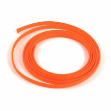 "5/8"" Orange Engine & Harness Wire Loom - 10 Feet rod street stereo rat custom"