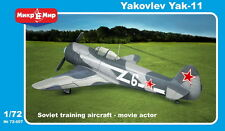 Micro MIR 1/72 MODELLO KIT 72-007 YAKOVLEV yak-11 MOOSE Monoposto