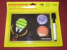 Loot Anime Exclusive Assassination Classroom Magnetic Dry Erase Board & Magnets