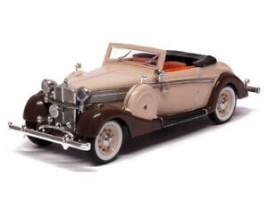 SGM43705 - Voiture Cabriolet - Maybach 38 SW de 1937 - Couleur crème et marron -