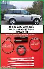 RANGE Rover L322 SOSPENSIONI PNEUMATICHE POMPA DEL COMPRESSORE Anello Pistone e sigillo REFURB KIT
