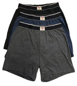 Buffalo David Bitton Men's 3 Pack Knit Boxers - Size: Medium        -       H-11