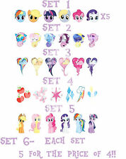 My Little pony MLP Stickers autocollant ongles manucure nail art water decal