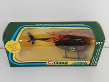 CORGI 925 BATMAN Batcopter Bat Copter Hélicoptere DC Comics 1976 + REPRO BOX