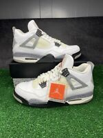 Air Jordan Retro 4 White Cement 2012 Size 10 Og All 100% Authentic White Cement