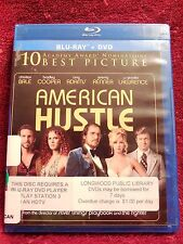 American Hustle (Blu-ray & DVD, 2-Disc Set) 2014
