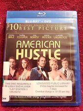 American Hustle (Blu-ray & DVD, 2-Disc Set) 2014