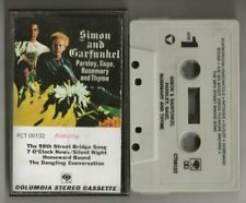 SIMON & GARFUNKEL - Cassette Audio Tape album - PARSLEY SAGE ROSEMARY and THYME