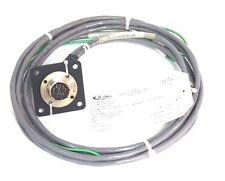 NEW ATLAS COPCO 9810075055 CABLE ASSEMBLY W/ RECEPTACLE F 11P