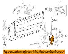 MERCEDES OEM 12-16 E350 Front Door-Lock Actuator Motor 2047203035