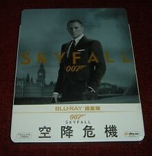 007: Skyfall *Blu - Ray Steelbook* / Taiwan / Brand New / Factory Sealed!!!