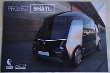 NAMI KAMAZ Project Shatl car (made in Russia)_2017 Prospekt / Brochure