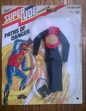 "VINTAGE 1977 SUPER JOE ADVENTURE TEAM OUTFIT 12"" G.I. JOE  PATHS OF DANGER"