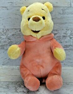 "Disney Parks Disney Babies Winnie The Pooh 11"" Plush Doll Toy"