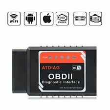 Wireless OBDII Vehicles Code Reader for iOS Apple iPhone iPad Andorid (ATI2)