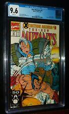 NEW MUTANTS #97 1991 Marvel Comics CGC 9.6 NM+ White Pages