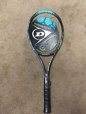 """NEU Dunlop biomimetischen 100 (16x19) Tennisschläger vorn Größe 4 1/4"""""""