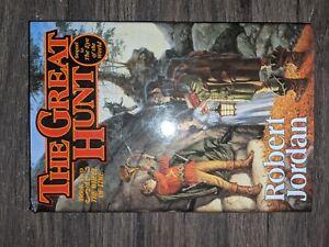 The Great Hunt: Bk. 2: Wheel of Time by Robert Jordan (Hardback, 1990)