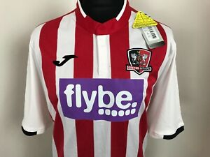 Exeter City football shirt 2019 - 2020 Home Soccer Jersey Size Large