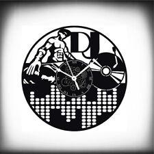 OROLOGIO DA PARETE - DEEJAY DISCOTECA VINILE MUSICA DJ -  Idea Regalo
