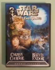 star wars ewok adventures  CARAVAN OF COURAGE / THE BATTLE FOR ENDOR  DVD