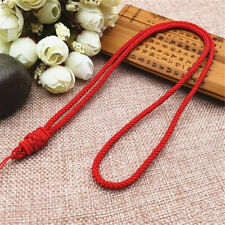 10/15PCS Handmade Knotted Love Rope String Necklace For Jade Pendant Beads