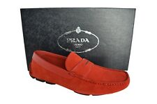 New Authentic PRADA Mens Shoes Sz US8 EU41 UK7 2DD137