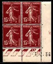 Coin daté Semeuse n° 189b du 3/2/1938 */**