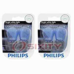 2 pc Philips Rear Turn Signal Light Bulbs for Ford Aerostar E-150 E-150 Club eh