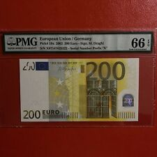 More details for pmg 66 epq germany 200 euro 2002 draghi.