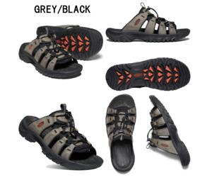 Keen Targhee III Slide Grey/Black Men's sizes 7-15/NEW!!!