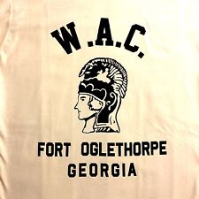 WWII US Army WAC Fort Oglethorpe Georgia Repro T Shirt Spec Tag Mens size S - XL