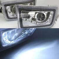 2x FOG LIGHT SPOT LAMP led daytime for TOYOTA LAND CRUISER PRADO FJ90 1998-2002