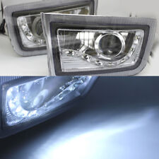 2x FOG LIGHT SPOT LAMP led daytime for TOYOTA LAND CRUISER PRADO FJ90 1998-2002