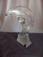 Cristal De Severs France Heavy Fine Crystal Golfer Figurine Signed NICE