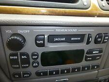 JAGUAR S TYPE  2000 2001 2002  RADIO CASSETTE PLAYER