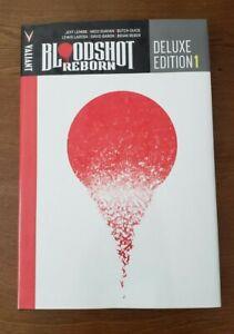 Bloodshot Reborn: Deluxe Ed Book One Vol 1 Valiant Comics HC Hardcover GN Lemire
