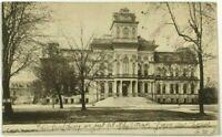 Court House Hamilton Ontario Canada Street View 1900's Vintage Postcard
