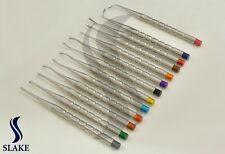 13 PCS PDL LUXATING DENTAL ROOT TIP EXTRACTING ELEVATORS INSTRUMENTS