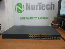 Cisco Catalyst WS-C2960-24TT-L V05 24+2 Ports Switch