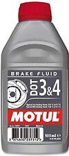 Liquide de frein MOTUL DOT 3 et 4  moto scooter quad 500 ml