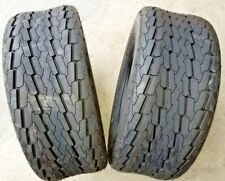 2 - 20.5X8.0-10 6 Ply Boat Trailer Tires DS7111 pontoon snowmobile camper