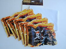 Hallmark Party Express Pirates of the Caribbean Thank You Cards Thankin Matey 5