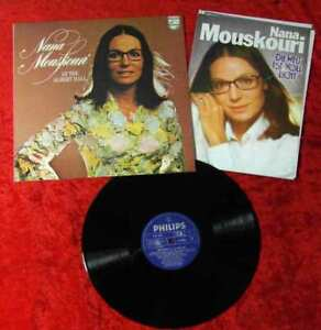 LP Nana Mouskouri At The Albert Hall (Philips 9101 006) UK 1974 PR Mappe