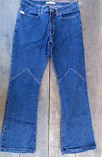 ** MISS SIXTY  ** Boot Cut Dark Wash Straight Leg Jeans SIze 32